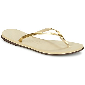 Zapatos Mujer Chanclas Havaianas YOU METALLIC Oro