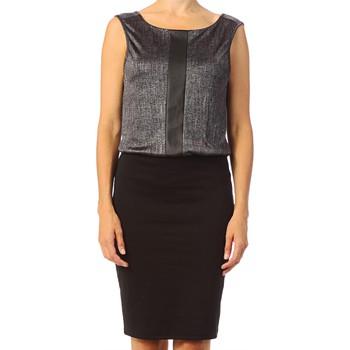 textil Mujer Vestidos cortos Vero Moda Tuba SL Above Knee Dress 10115644 Argent Gris