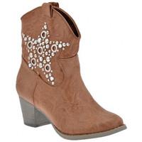 Zapatos Mujer Botines F. Milano  Beige
