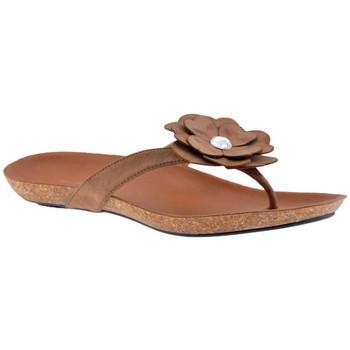 Zapatos Mujer Chanclas F. Milano  Beige