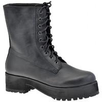 Zapatos Mujer Botas de caña baja F. Milano  Negro