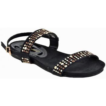 Zapatos Mujer Sandalias F. Milano  Negro