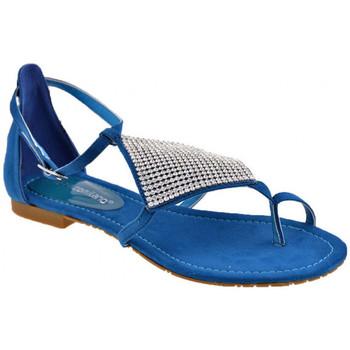 Zapatos Mujer Chanclas F. Milano  Azul