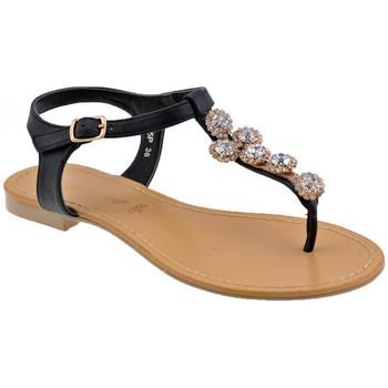 Zapatos Mujer Chanclas F. Milano  Negro