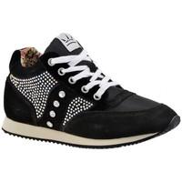 Zapatos Mujer Zapatillas altas F. Milano  Negro