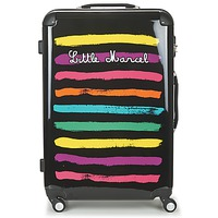 Bolsos Valise Rigide Little Marcel MALTE-75 Negro / Multicolor