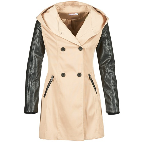 textil Mujer trench Moony Mood ECILA Beige