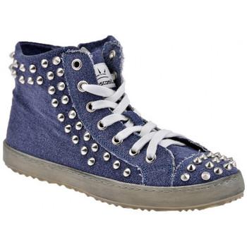 Zapatos Mujer Zapatillas altas F. Milano  Azul