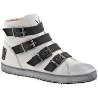 Zapatos Mujer Zapatillas altas F. Milano  Blanco