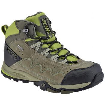 Zapatos Niño Senderismo Tecnica  Verde
