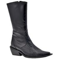 Zapatos Mujer Botines Laura Biagiotti  Negro