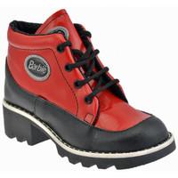 Zapatos Niños Botas de caña baja Barbie  Rojo