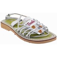 Zapatos Niños Sandalias Barbie  Blanco