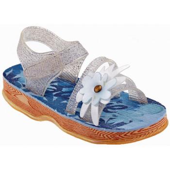 Zapatos Niños Sandalias Barbie  Plata