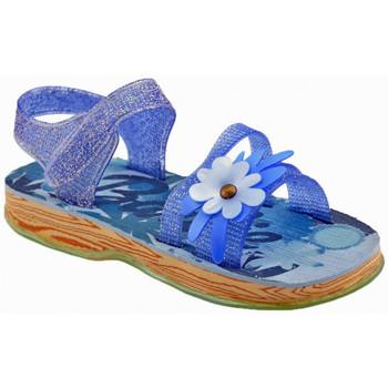 Zapatos Niños Sandalias Barbie  Azul