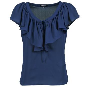 textil Mujer Tops / Blusas Morgan OMIMI Marino