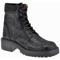 Zapatos Niño Botas de caña baja La Romagnoli  Negro
