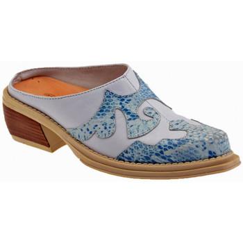 Zapatos Niños Zuecos (Clogs) La Romagnoli  Azul
