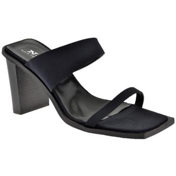 Zapatos Mujer Sandalias Nci  Negro