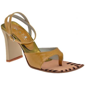 Zapatos Mujer Chanclas Nci  Marrón