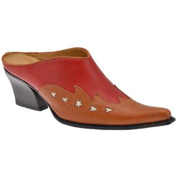 Zapatos Mujer Zuecos (Clogs) Nci  Rojo