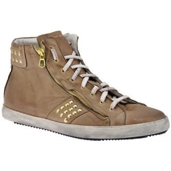 Zapatos Hombre Zapatillas altas Exton  Beige