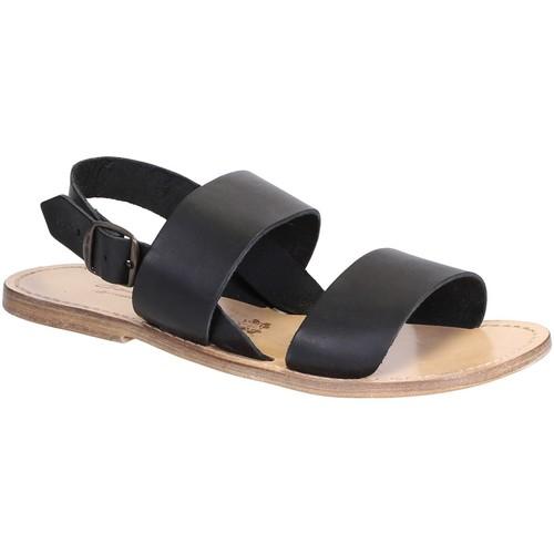 Zapatos Mujer Sandalias Gianluca - L'artigiano Del Cuoio 500X U NERO LGT-CUOIO nero