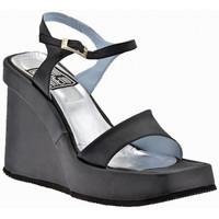 Zapatos Mujer Sandalias No End  Negro