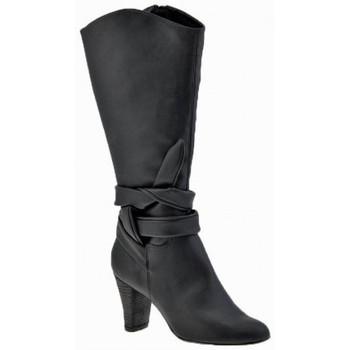 Zapatos Mujer Botines Chedivé  Negro