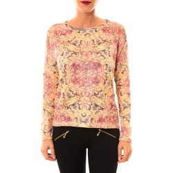 textil Mujer Jerséis Custo Barcelona Pull Ramone Bloom or Oro