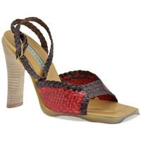 Zapatos Mujer Sandalias Janet&Janet  Rojo