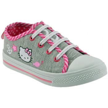 Zapatos Niños Zapatillas bajas Hello Kitty  Gris