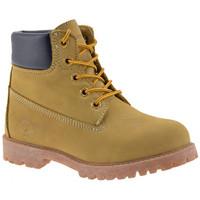 Zapatos Niña Botas de caña baja Lumberjack  Amarillo