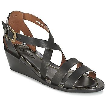 Zapatos Mujer Sandalias Kickers FANTASIA Negro
