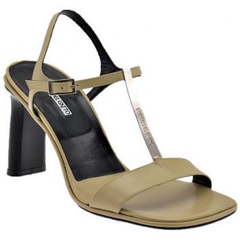 Zapatos Mujer Sandalias Enrico Del Gatto  Beige