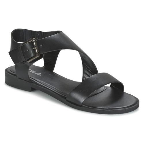 Zapatos Mujer Sandalias Betty London EMALIA Negro