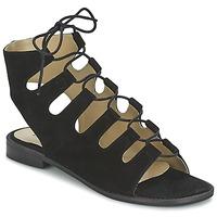 Zapatos Mujer Sandalias Betty London EBITUNE Negro