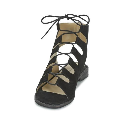 Mujer Sandalias Betty London Ebitune Zapatos Negro NOnP80kwX