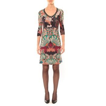 textil Mujer Vestidos cortos Custo Barcelona Robe Dem Cahir noir Negro