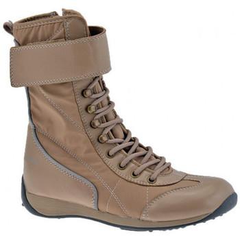 Zapatos Niña Senderismo Fornarina  Beige
