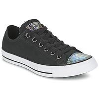 Zapatos Mujer Zapatillas bajas Converse ALL STAR OIL SLICK TOE CAP OX Negro