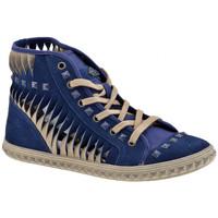 Zapatos Mujer Zapatillas altas Fornarina  Azul