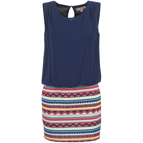 textil Mujer vestidos cortos Moony Mood IEVELI Marino