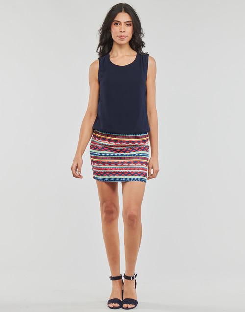 textil Mujer vestidos cortos Moony Mood EVELI Marino