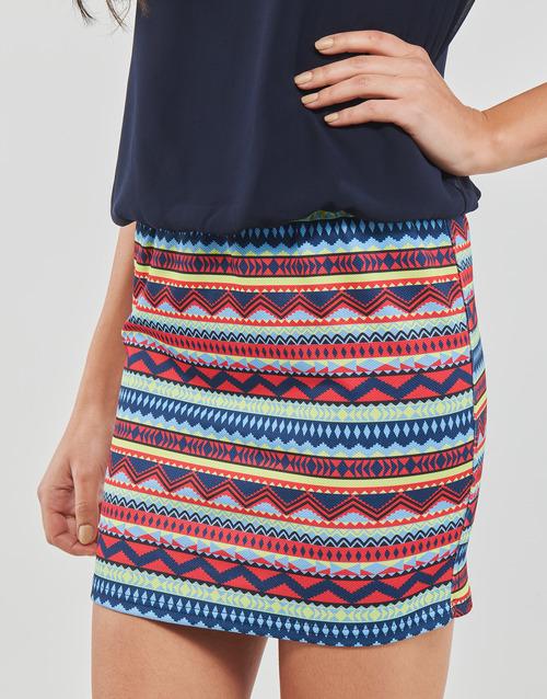Moony Mujer Vestidos Marino Ieveli Mood Textil Cortos O80wmyPvNn