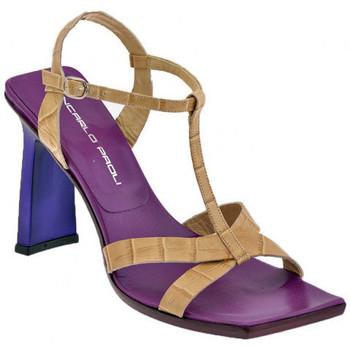 Zapatos Mujer Sandalias Giancarlo Paoli  Beige