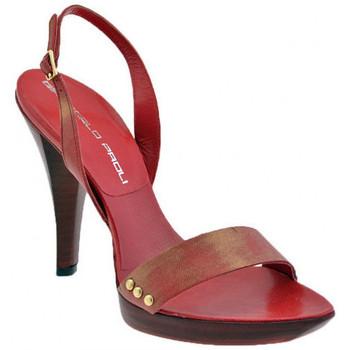 Zapatos Mujer Sandalias Giancarlo Paoli  Rojo
