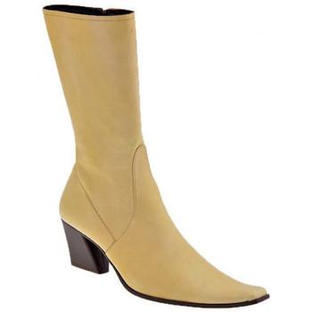 Zapatos Mujer Botines Giancarlo Paoli  Beige