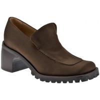 Zapatos Mujer Mocasín Now  Marrón