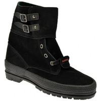 Zapatos Mujer Botas de caña baja Superga  Negro